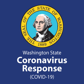 State of Washington COVID Response Graphic