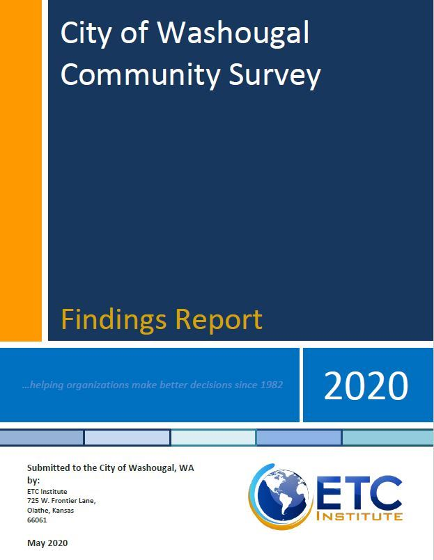 Community Survey Coverpage