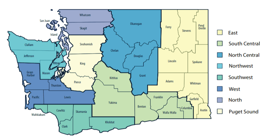 Healthy Washington - Roadmap to Recovery Regional Approach
